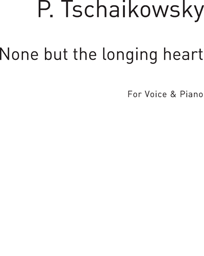 None but the Longing Heart in C Major