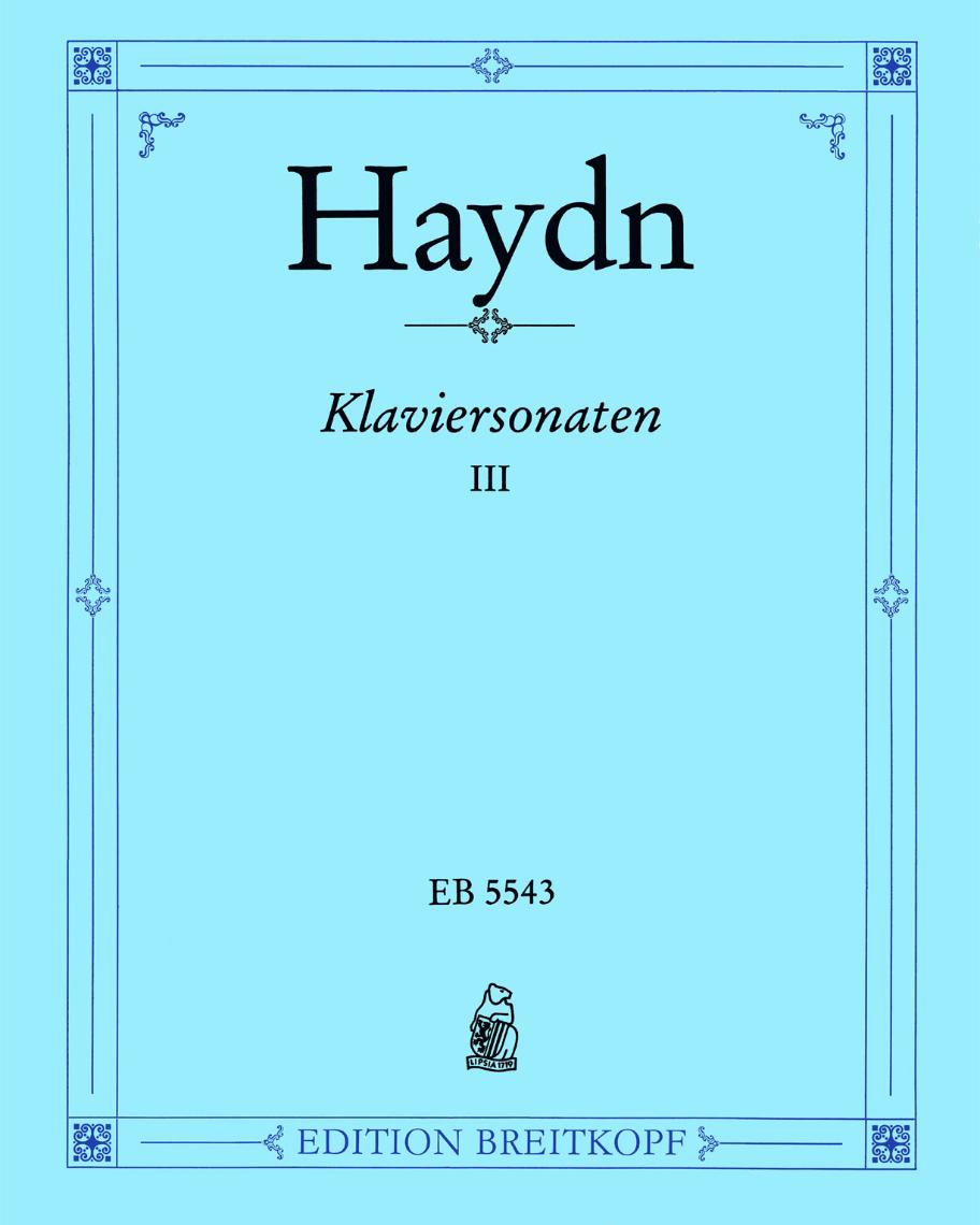 Sämtliche Klaviersonaten - Bd. 3