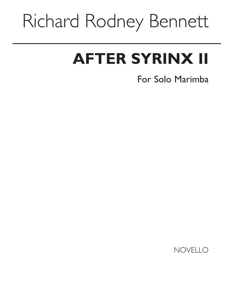After Syrinx II