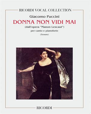 """Donna non vidi mai (dall'opera """"Manon Lescaut"""")"""
