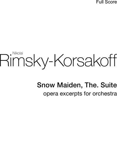 The Snow Maiden Suite