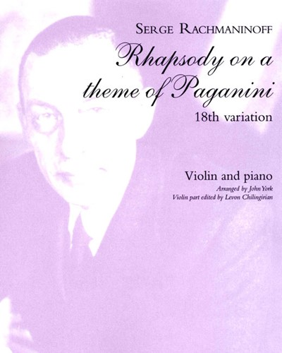 "18th Variation (from ""Rhapsody on a Theme of Paganini"")"