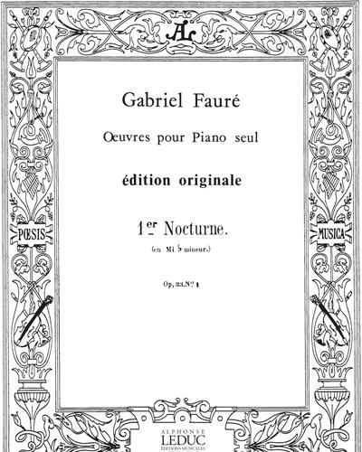 Nocturne Op. 33, No. 1 in Mi b mineur