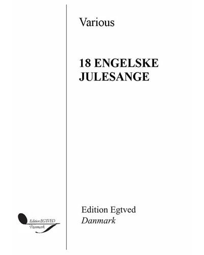 18 Engelske julesange