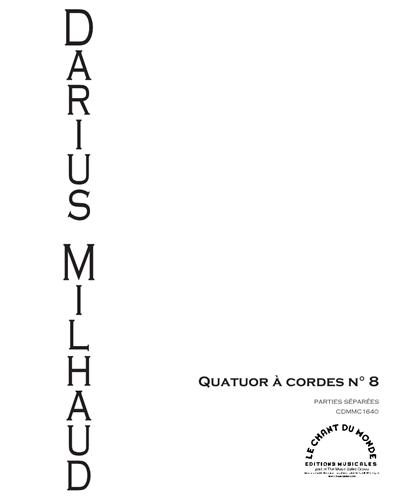 Quatuor À Cordes No. 8