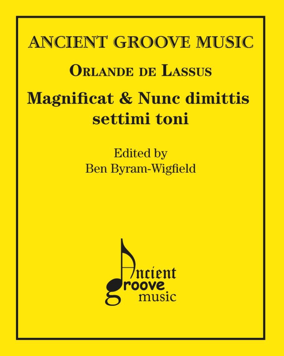 Magnificat & Nunc dimittis settimi toni