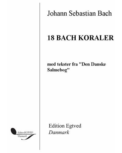18 Bach koraler