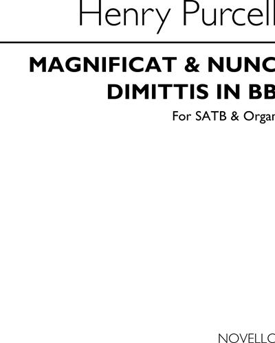 Magnificat & Nunc Dimittis in Bb
