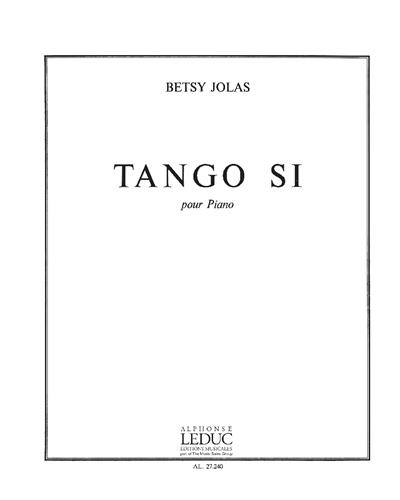 Tango Si pour Piano