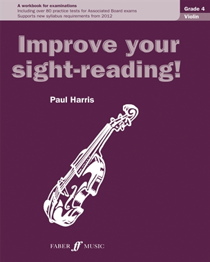 Improve Your Sight-Reading Violin: Grade 4 Extra Stage