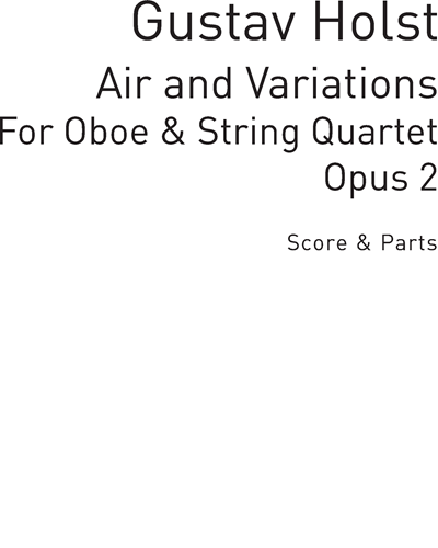 Air and Variations (Fantasiestücke) Op. 2