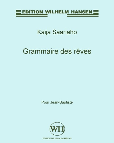 Grammaire des rêves