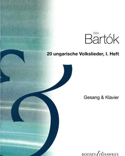 20 Hungarian Folksongs, Vol. 1