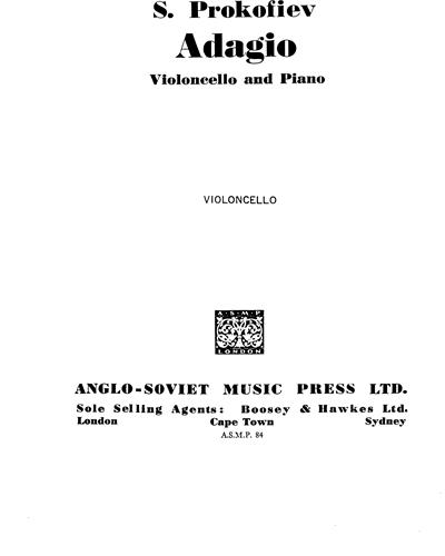 "Adagio (from ""Cinderella, op. 97b"")"