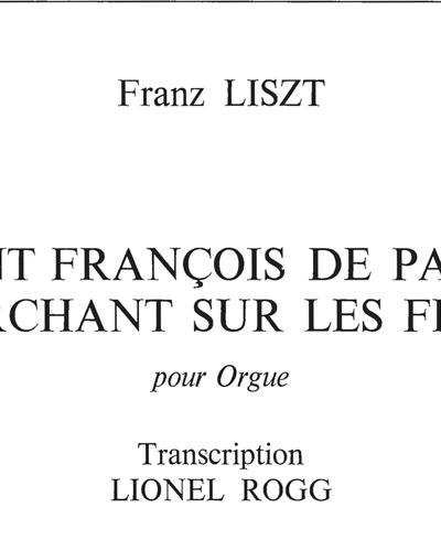 Saint François de Paule Marchant sur les Flots