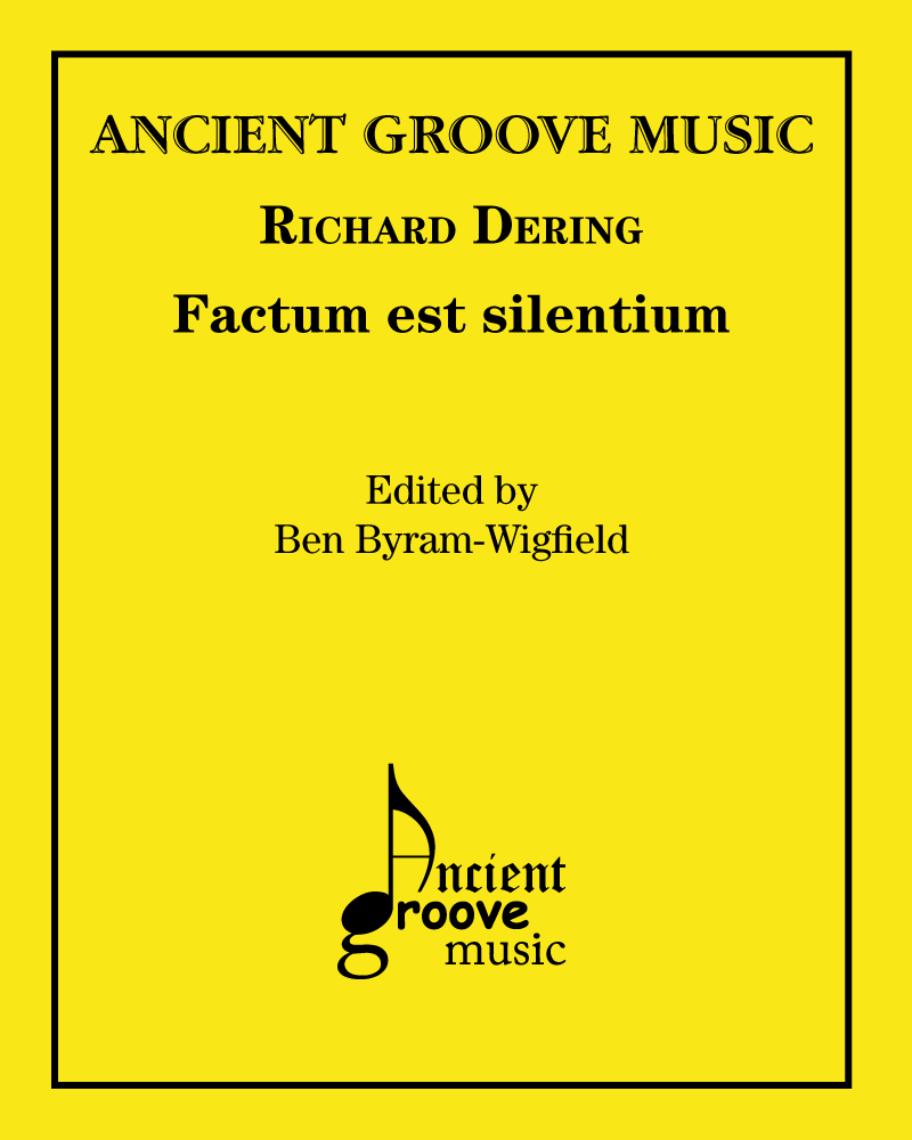 Factum est silentium