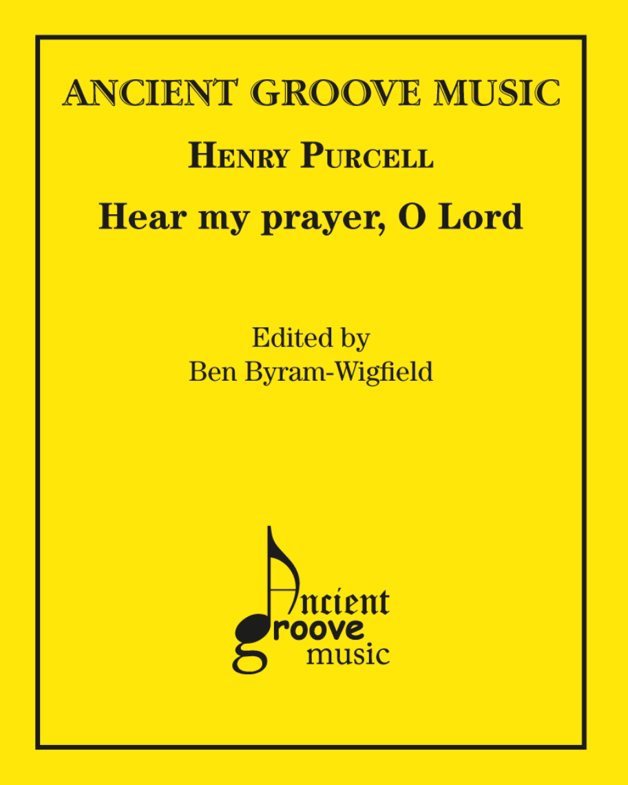 Hear my prayer, O Lord