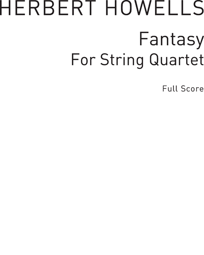 Fantasy for String Quartet