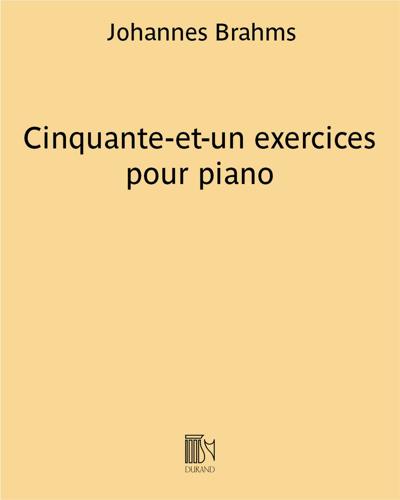 Cinquante-et-un exercices pour piano