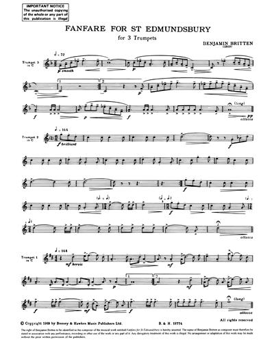 Fanfare for St. Edmundsbury