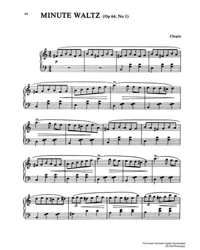 Minute Waltz Op.64, No.1