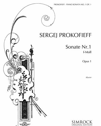 Piano Sonata No. 1 in F minor, op. 1