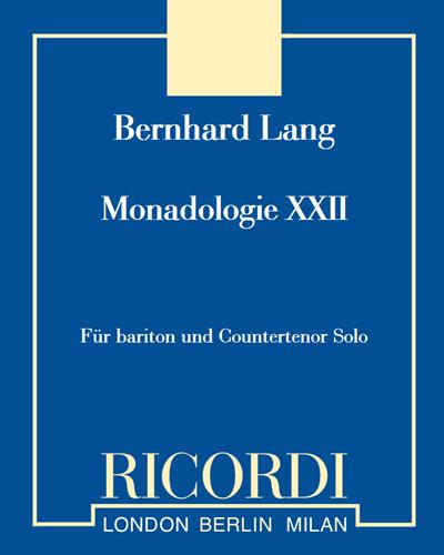 Monadologie XXII