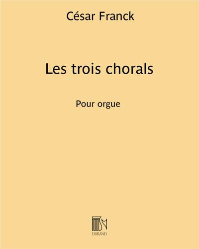 Les trois chorals