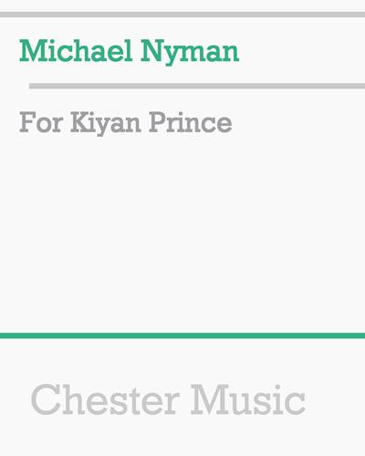For Kiyan Prince