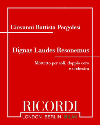 Dignas Laudes Resonemus [Critical Edition]