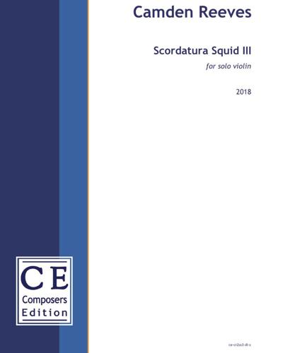 Scordatura Squid III