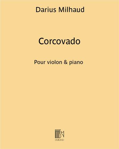 """Corcovado (extrait n. 4 de """"Saudades do Brazil"""")"""
