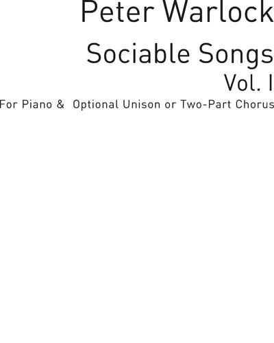 Sociable Songs Vol. 1