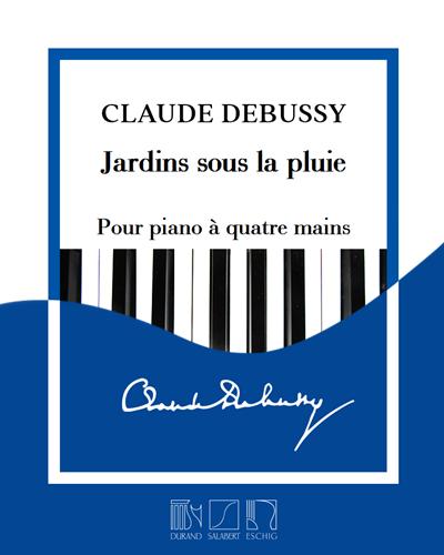 """Jardins sous la pluie (extrait n. 3 de """"Estampes"""") - Pour piano"""