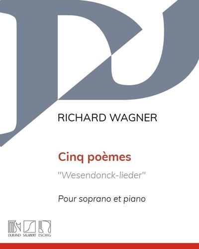 """Cinq poèmes """"Wesendonck-lieder"""""""