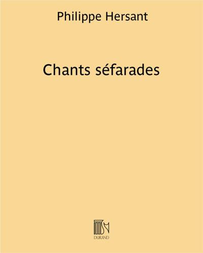 Chants séfarades