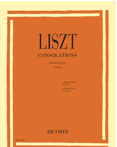 Consolations per pianoforte