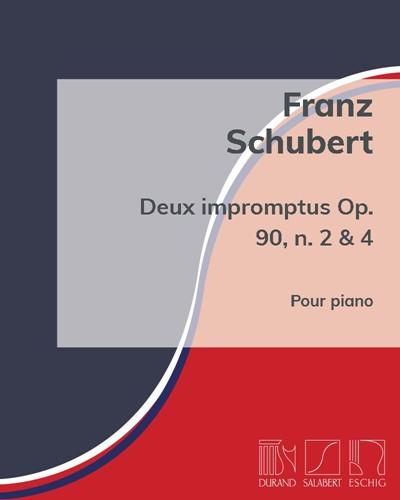 Deux impromptus Op. 90, n. 2 & 4