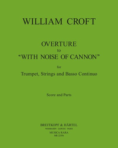 """Ouvertüre zu """"With noise of cannon"""""""