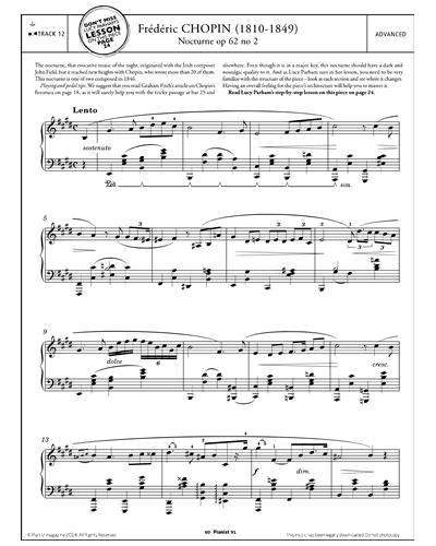 Nocturne in E Op.62 No.2