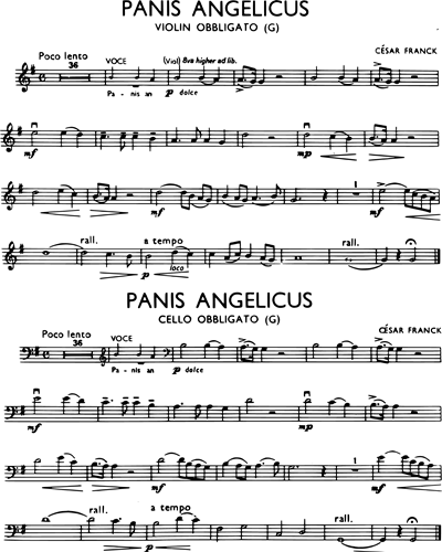 Panis Angelicus (in G)