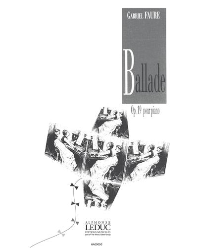 Ballade Op. 19 pour Piano