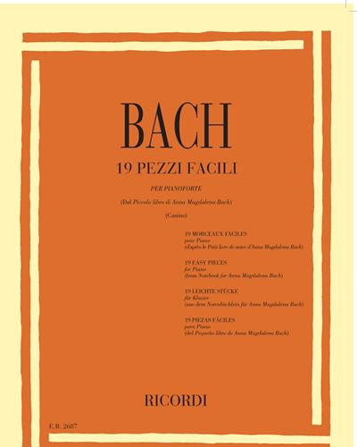 19 pezzi facili per pianoforte