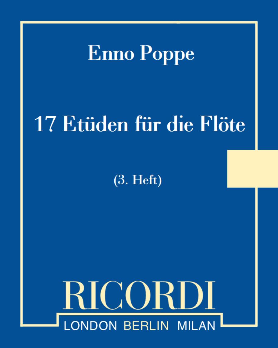 17 Etüden für die Flöte (3. Heft)