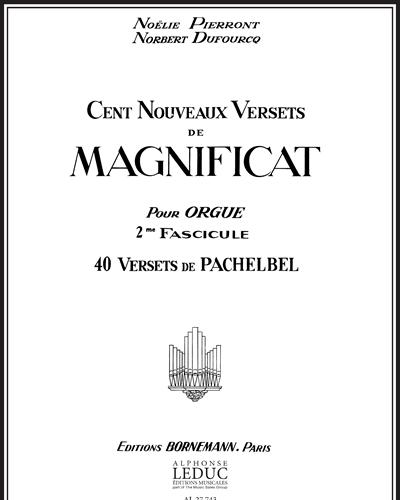 100 Nouveaux Versets de Magnificat Vol. 2
