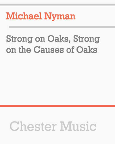 Strong on Oaks, Strong on the Causes of Oaks