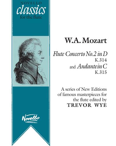 """""""Flute Concerto No. 2"""" & """"Andante in C"""""""