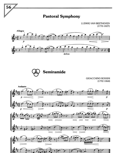 Pastoral Symphony/Semiramide