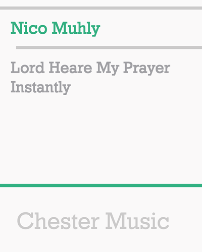 Lord Heare My Prayer Instantly