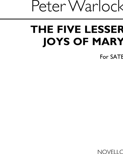 The Five Lesser Joys of Mary for SATB